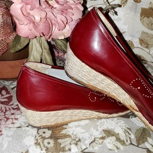 Ferragamo Red Shoes